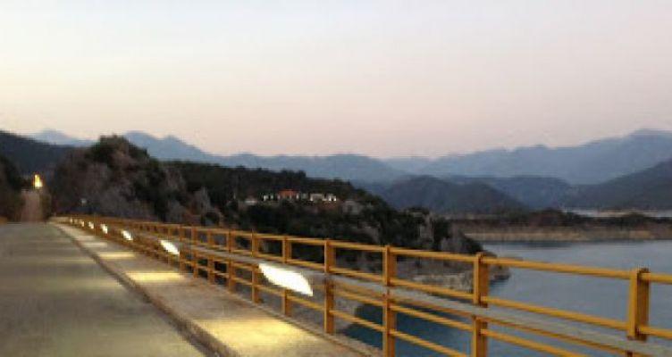 Φωτίστηκε δοκιμαστικά η γέφυρα της Τατάρνας