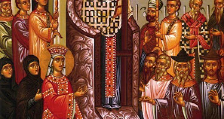 Ιερά Αγρυπνία επί τη Εορτή της Υψώσεως του Τιμίου Σταυρού στην Ιερά Μονή Μυρτιάς
