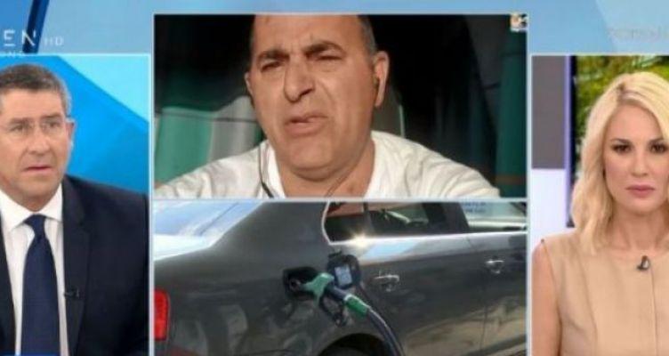 Αγρινιώτης Βενζινάς μιλά στο Open TV για πληρωμή 40 ευρώ σε πεντάλεπτα! (Βίντεο)