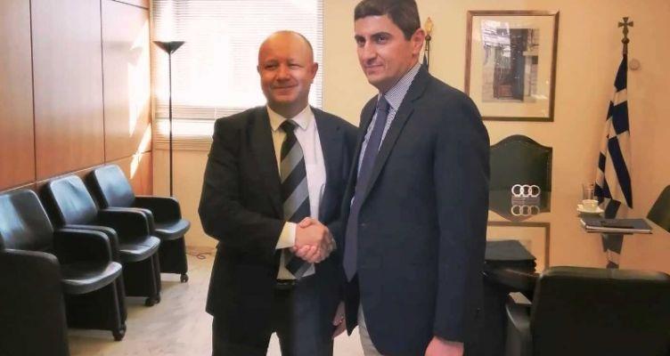 Δίωρη συνάντηση του Λ. Αυγενάκη με τον Π. Φούσεκ