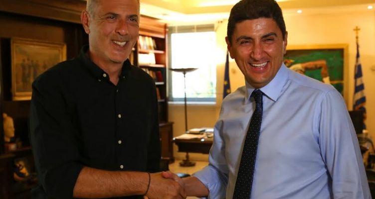 Συνάντηση Λ. Αυγενάκη με Γ. Μώραλη