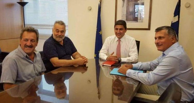 Συνάντηση Λ. Αυγενάκη με το προεδρείο της Ελληνικής Ομοσπονδίας Ποδηλασίας
