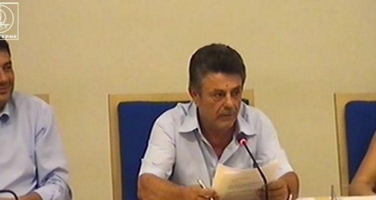 Ο Γεώργιος Ροΐδης ο νέος πρόεδρος Δημοτικού Συμβουλίου Αμφιλοχίας