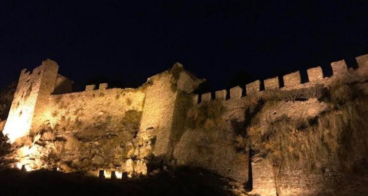 Φωτίστηκε και πάλι το Κάστρο της Ναυπάκτου