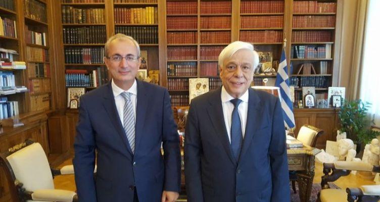 Συνάντηση Κωνσταντάρα – Παυλόπουλου για θέματα του Δήμου Θέρμου