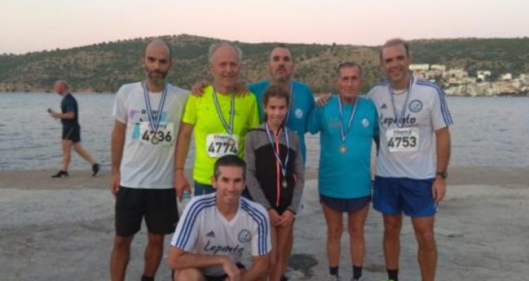 Συμμετοχή των Lepanto Runners στους δρομικούς αγώνες της Αμφιλοχίας