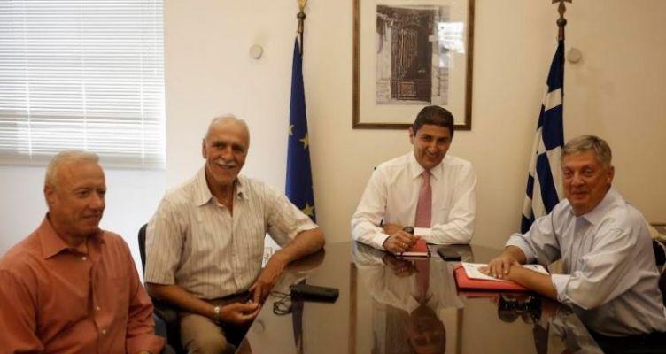 Συνάντηση Λ. Αυγενάκη με το προεδρείο του Σ.Ε.Γ.Α.Σ.