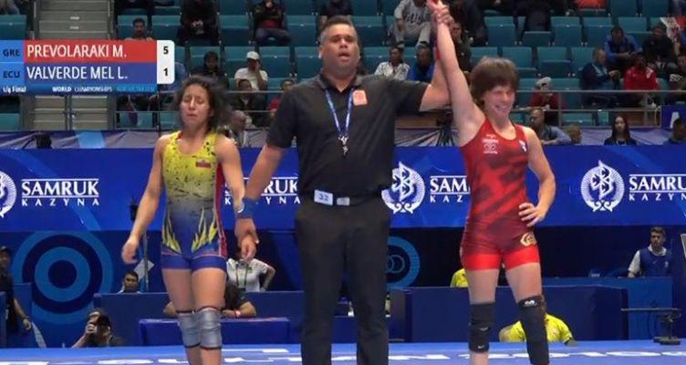 Πάλη: Στους Ολυμπιακούς Αγώνες του Τόκιο η Πρεβολαράκη