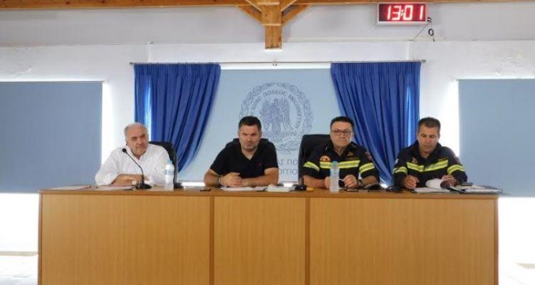 Μεσολόγγι: Συνεδρίαση του Συντονιστικού Οργάνου Πολιτικής Προστασίας