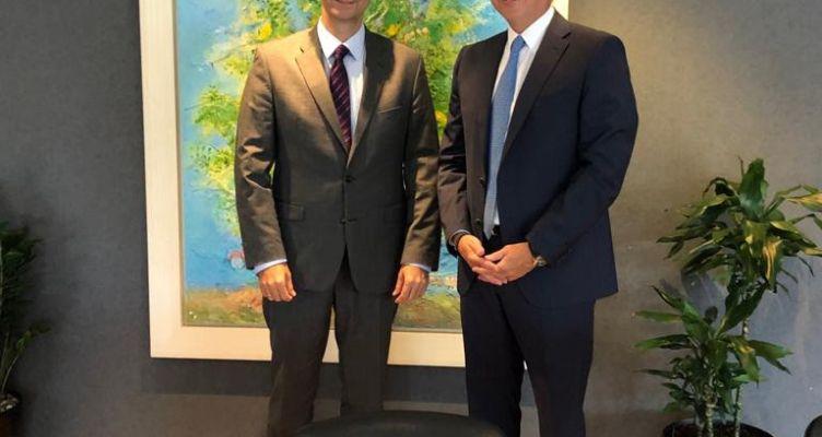 Συνάντηση του Σπ. Λιβανού με τον Υπουργό Τουρισμού Χάρη Θεοχάρη