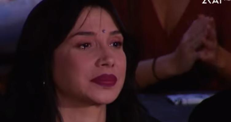 Τα δάκρυα του Σάκη Ρουβά και της Πάολα on camera (Φωτό)