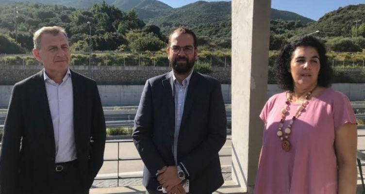 Επίσκεψη του Νεκτάριου Φαρμάκη στην Ολύμπια Οδό