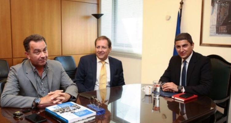 Συνάντηση Λ. Αυγενάκη με ΚΑΕ Α.Ε.Κ. για το Ολυμπιακό Κέντρο Άνω Λιοσίων
