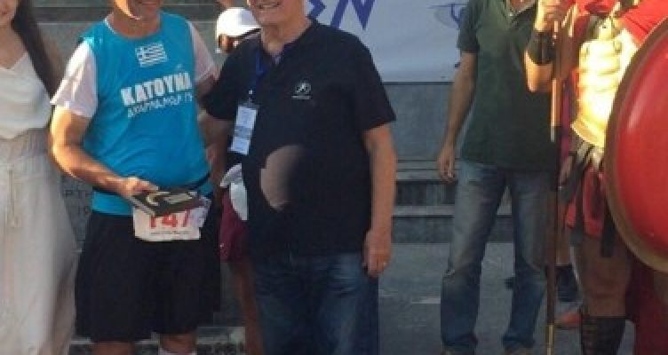 Ο Κατουνιώτης Παναγιώτης Μαλτέζος Σπαρταθλητής (Βίντεο)