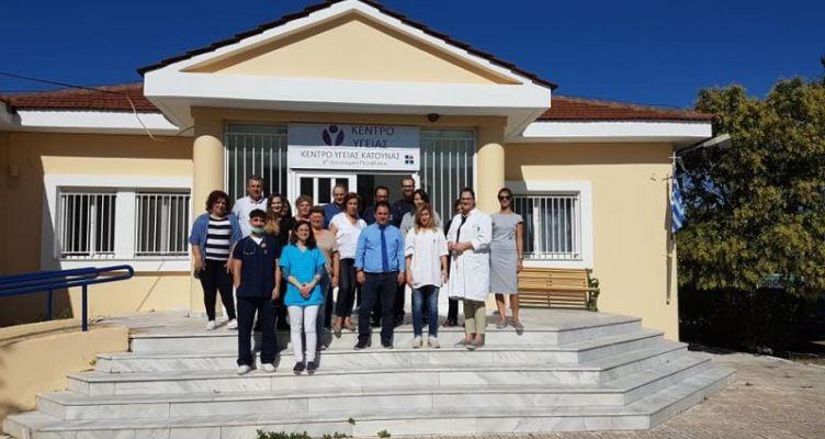 Ολοκληρώθηκαν οι ιατρικές εξετάσεις στο Κέντρο Υγείας Κατούνας
