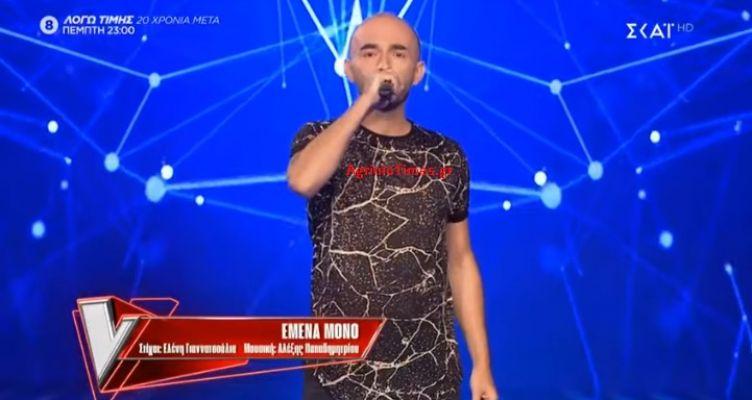 «The Voice»: Ο Γ. Μεταξάς με καταγωγή και από το Αγρίνιο στην ομάδα του Πάνου! (Βίντεο – Φωτό)