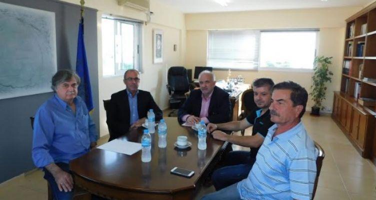 Μεσολόγγι: Συνάντηση του Κώστα Λύρου με τον Βουλευτή Αιτ/νίας Νίκο Παπαναστάση