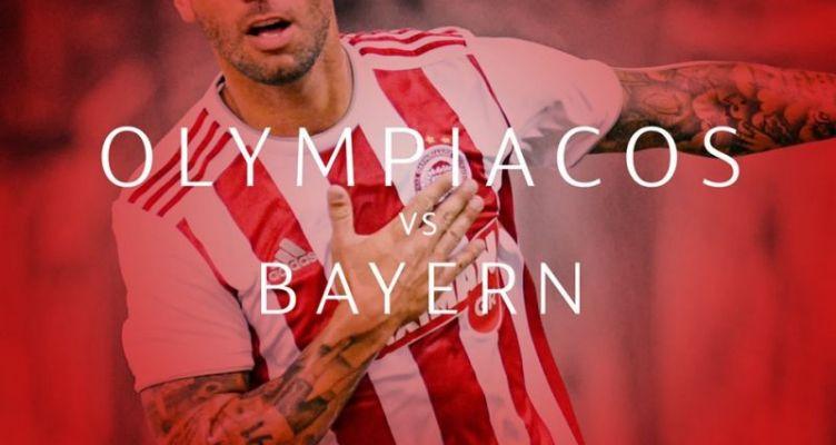 Ολυμπιακός – Μπάγερν Μονάχου: Live στις 22:00 στον Agrinio937 fm
