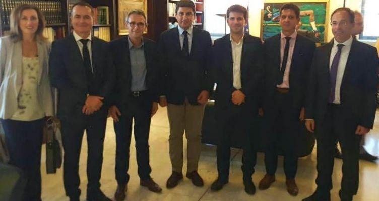 Συνάντηση του Αυγενάκη, με αντιπροσωπεία Γάλλων για τους Ολυμπιακούς Αγώνες στο Παρίσι