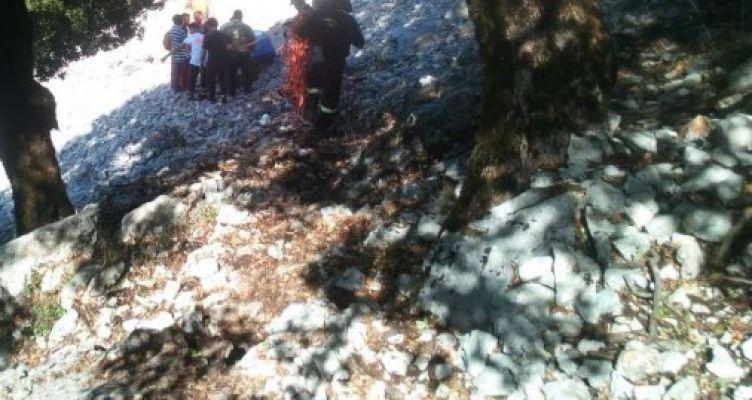 Περγαντί – Ακαρνανικά Όρη: Ελικόπτερο παρέλαβε τραυματισμένο κυνηγό