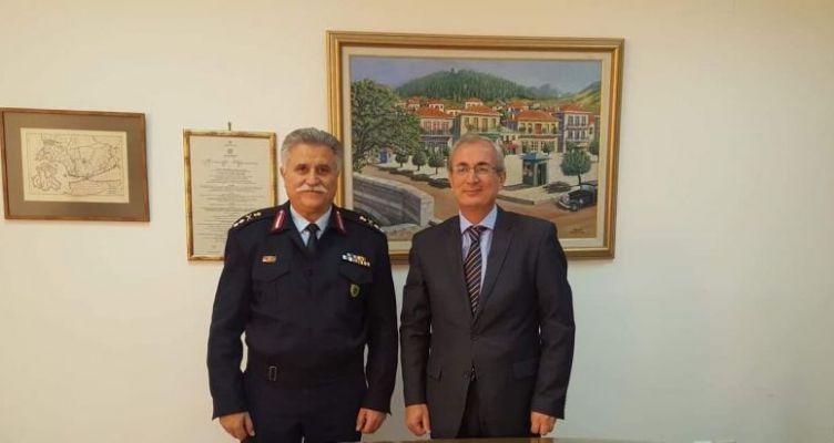 Θέρμο: Επίσκεψη του Αστυνομικού Περιφερειακού Διευθυντή Υποστράτηγου κ. Ν. Σπανουδάκης