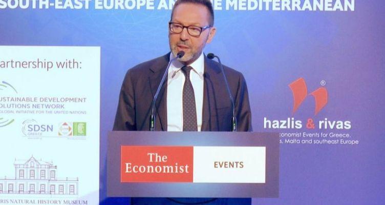 Γ. Στουρνάρας: Η ασφαλιστική αγορά μπορεί να συμβάλλει στην αντιμετώπιση της κλιματικής αλλαγής