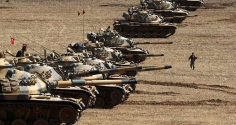 «Φλέγεται» η Συρία: Τουρκική επίθεση κατά των Κούρδων