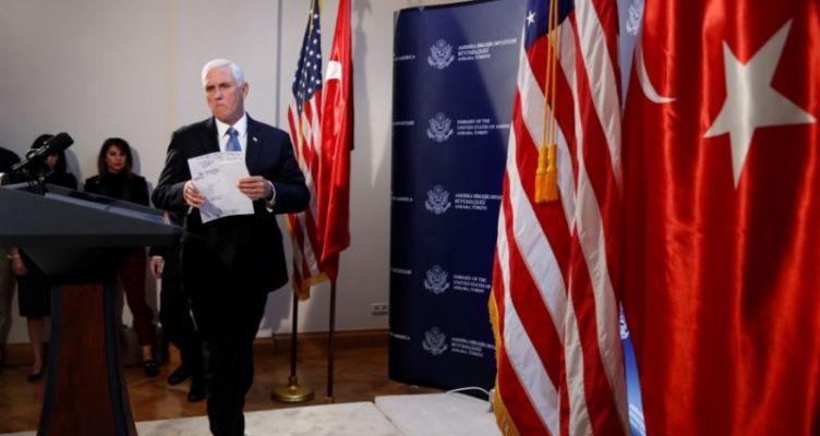 Συμφωνία Τουρκίας – Η.Π.Α. για κατάπαυση πυρός 120 ωρών στη Συρία