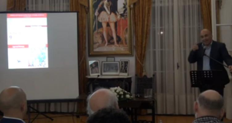 Εκδήλωση για τη Ναυμαχία της Ναυπάκτου στο Αρχοντικό Μπότσαρη με τον Θάνο Βερέμη
