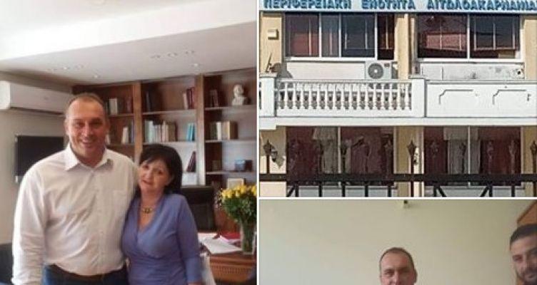 Επίσκεψη για την υπόδειξη προβλημάτων της Κοινότητας Καλυβίων