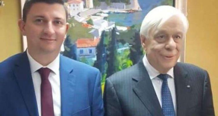 Στην Αναπαράσταση της Ναυμαχίας της Ναυπάκτου ο Γιάννης Τριανταφυλλάκης