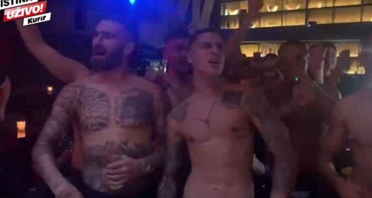 Πάρτι Βράνιες: Ημίγυμνοι παίκτες της ΑΕΚ έβριζαν τον Ολυμπιακό! (Βίντεο)
