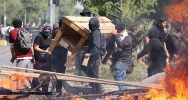 Χιλή: 2 νεκροί και 3 σοβαρά τραυματίες στα επεισόδια