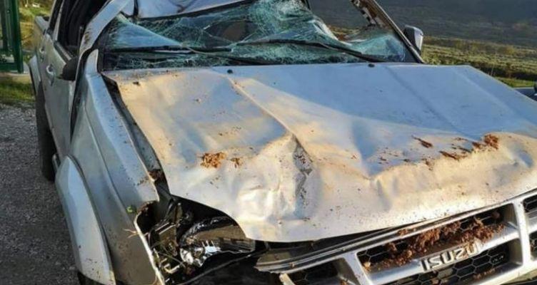 Άγγελος Αναστασιάδης: Σοκ από την φωτογραφία του αυτοκινήτου μετά το τροχαίο!
