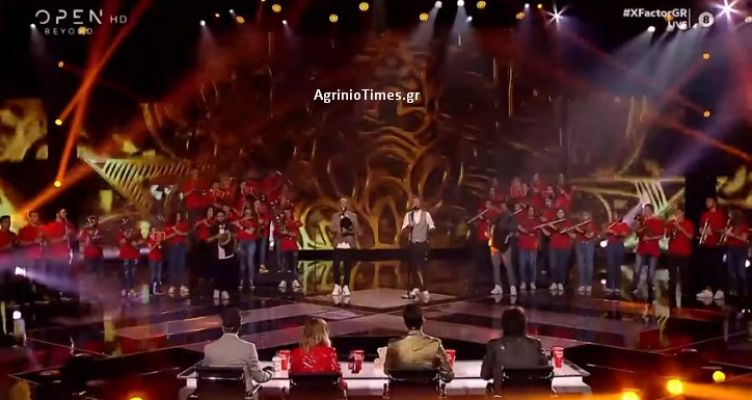 «X-Factor»: Η «Agrinio Band» και ο Βασίλης Κονίδας με τους «Άνω – Κάτω»! (Βίντεο – Φωτό)