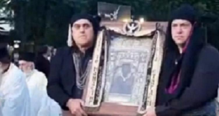 Έφτασε η εικόνα της Παναγίας Σουμελά στην Πάτρα