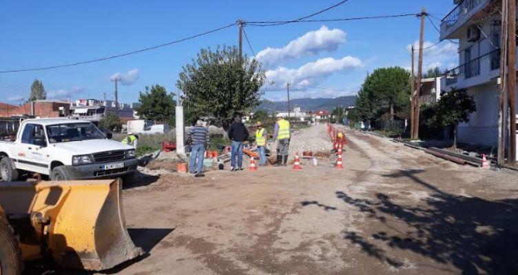 Δήμος Αγρινίου: Έργα στην Οδό Αναπαύσεως (Φωτό)