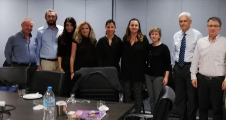 Ο Φωκίων Ζαϊμης σε τεχνική συνάντηση για την πορεία των έργων INTERREG
