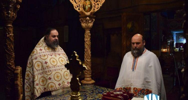 Ιερή αγρυπνία στον Άγιο Νικόλαο Αντιρρίου (Βίντεο)