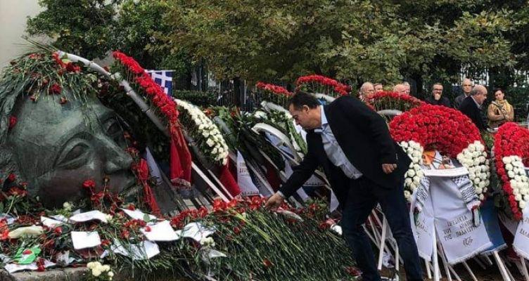 Μήνυμα Δ. Κωνσταντόπουλου για την 46η Επέτειο από την εξέγερση του Πολυτεχνείου