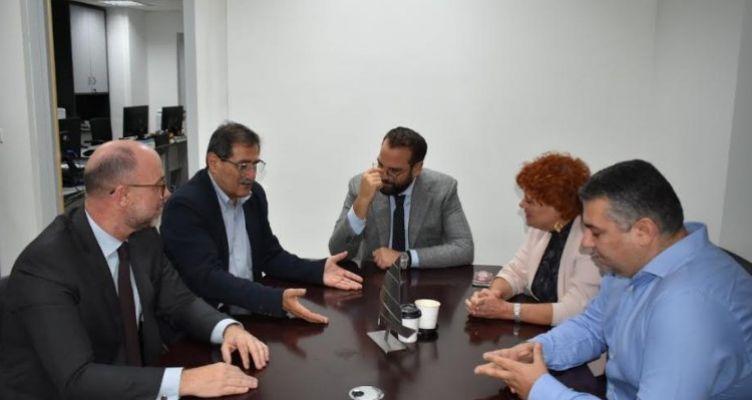 Συνάντηση του Κώστα Πελετίδη με τον Νεκτάριο Φαρμάκη