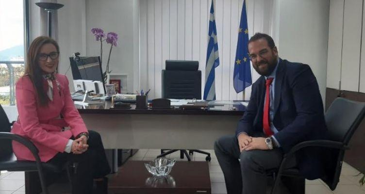Στον Περιφερειάρχη Δ. Ελλάδας η Πρέσβης της Βοσνίας – Ερζεγοβίνης