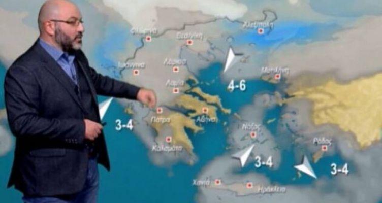 Καιρός: Έρχεται… χειμώνας και φέρνει χιόνια – Η ενημέρωση Αρναούτογλου