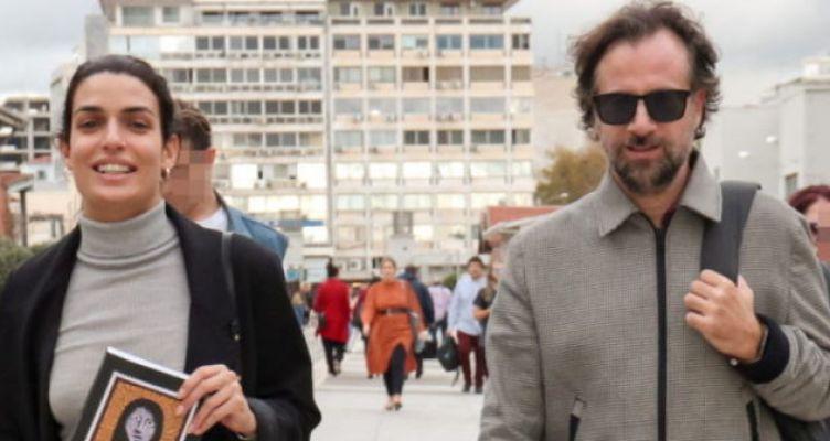 Τόνια Σωτηροπούλου – Κωστής Μαραβέγιας: Πρωινή βόλτα στο λιμάνι της Θεσσαλονίκης!