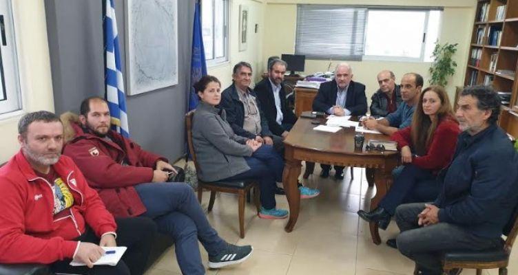 Συνάντηση του Κώστα Λύρου με μέλη συλλόγων του Αιτωλικού για την Λιμνοθάλασσα