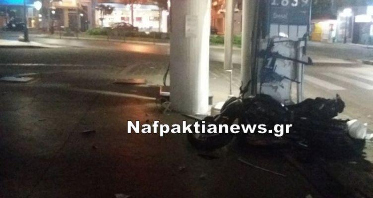 Ναύπακτος: Σοβαρό τροχαίο ατύχημα τα ξημερώματα (Βίντεο)