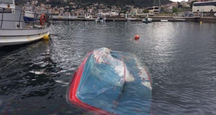 Βούλιαξαν βάρκες από την κακοκαιρία στη Μαρίνα Αμφιλοχίας (Φωτό)