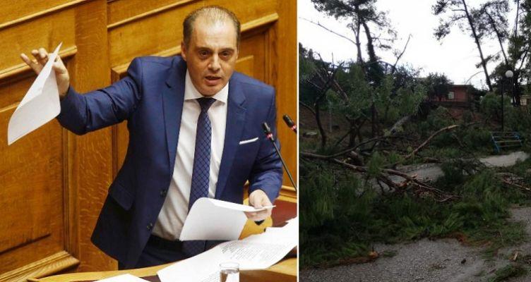 Ερώτηση Βελόπουλου προς τους Υπουργούς σχετικά με τα προβλήματα στο άλσος Πενταλόφου