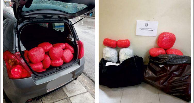 Χασίς 38 κιλά στη Θεσπρωτία – Δύο Συλλήψεις
