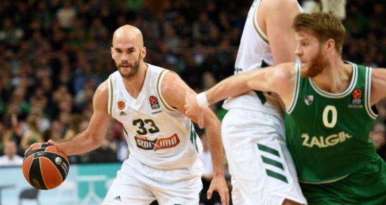 Euroleague Basketball: Νίκη του Παναθηναϊκού επί της Ζαλγκίρις με 86-85